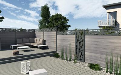 La clôture bois pour délimiter votre jardin avec style